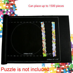 Accessories  Felt Puzzle 1500 Pieces Storage Blanket Puzzles Kid Jigsaw Play