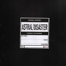 Coil Astral Disaster YELLOW VINYL LP Record rare coil release! limited album NEW
