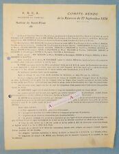 CANTAL 1934 Saint-Flour CNCA 1934 (secteur automobile) Chavarot Lépine Nomblot