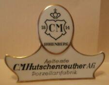 HOHENBERG - C.M. HUTSCHENREUTHER A.G. - PORCELLANA - LOGO FABBRICA GERMANIA (e)