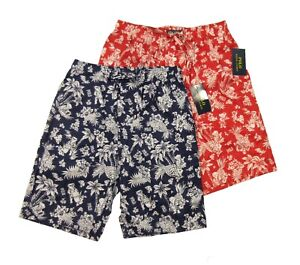 Polo Ralph Lauren Men's Polo Bear Hawaiian Graphic Print Sleep Shorts