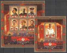 D0815 IMPERF CONGO WORLD WAR II WWII LEADERS STALIN 1KB+1BL MNH