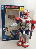 Vintage Light & Sound Space Roboter Zadak mit Funktionen - TCM Ovp ca 40cm Robot