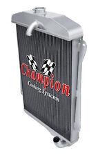 3 Row Aluminum Champion Radiator for 1941 Chevrolet Fleetmaster L6 Engine