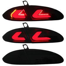 CARDNA LED Rückleuchten Heckleuchten Seat Leon 1P Bj. 05-09 Schwarz/Smoke