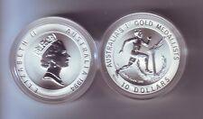 1994 Australia Silver $10 Coin Olympic Heritage Series Edwin Flack Athlete