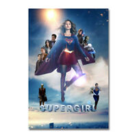 Supergirl TV Series Silk Poster Canvas Wall Art Print Picture 12x18 24x36 inch