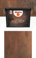 Alpina Farbrezepte 1,2 L. Rostoptik bis 10m² Set Rost Optik Effekt Rostfarbe