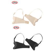 2Pcs Women Side Wings Adjustable Shoulder Straps Non-slip Reusable Side Flanks