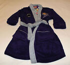 Fremantle Dockers AFL Boys Purple Grey Embroidered Dressing Gown Size 5 New