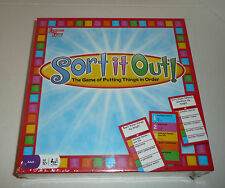Sort It Out Board Game - The Game of Putting Things in Order - NEW SEALED Family
