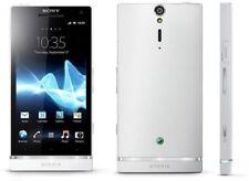 "4.3"" Sony Ericsson Xperia SL LT26ii Unlocked 32GB GPS 12MP Radio Cellphone White"