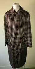 60's true vintage raincoat faux double breasted