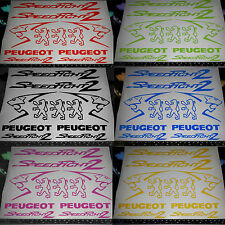 Speedfight 2 Decals/Stickers ALL COLOURS AVAILABLE