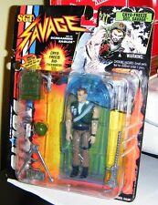 1994 CRYO-FREEZE SGT. SAVAGE FIGURE G.I. Joe Mint in Good Package Hasbro