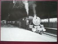 POSTCARD LMS 2-6-4T LOCO  AT RUGBY MIDLAND C1950'S