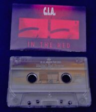 C.I.A. In The Red 10 track 1990 CASSETTE TAPE (Nuclear Assault Glenn Evans solo)