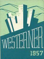 Original 1957 West High School Yearbook - Denver, Colorado-The Westerner