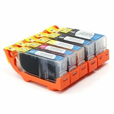 Set of 5 Ink Cartridges w/ CHIP for CANON Pixma MX860 iP3600 Printer
