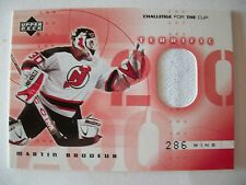 2001-02  CHALLENGE FOR THE CUP JERSEY MARTIN BRODEUR  T-MB  DEVILS  BOX 52