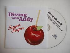 DIVING WITH ANDY en duo avec GUSH : SUGAR SUGAR [ CD SINGLE ] ~ PORT GRATUIT