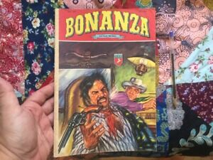 BONANZA TURKISH EDITION 1980s VINTAGE COMIC + YOGI BEAR COMIC adventure inside