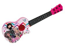"Barbie Kids Guitar 21"" Pink Musical Toy Mini Size Educational Instrument"