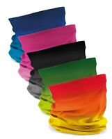 BLUE RED YELLOW GREY GREEN Microfibre Multipurpose Hat Head Scarf Morf