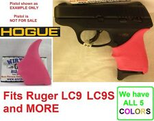 PINK Hogue Rubber HandAll Beavertail Grip Sleeve fits Ruger LC9 LC9s