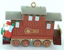 Hallmark Keepsake Ornament CLAUS & CO RAILROAD CABOOSE CAR 4th Train Rail RR