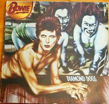 Rare David Bowie Diamond Dogs RCA Victor INTS5068 Green Label 1974 EX 11 Track