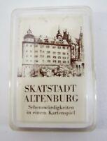 Skatkarten Stadt Altenburg Sehenswürdigkeiten in einem Kartenspiel 32 Blatt