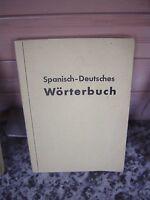 Wörterbuch Spanisch-Deutsch, herausgegeben von B. Berme