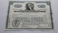 American Rail Road Stock Certificate The New York Central Rail Road Comp.1946