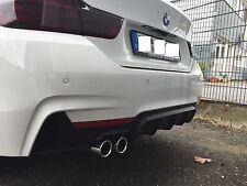 Diffusor Heckansatz für BMW 4er F32 F33 F36 M Paket Performance Heck schürze M4
