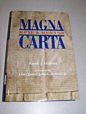 SIGNED Magna Carta Muse & Mentor-Randy J. Holland-Forward by John G. Roberts Jr