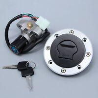 Ignition Switch Lock & Fuel Gas Cap Key Set Fit for Suzuki GS500E 1989-2000 1992