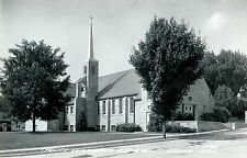 Christ Lutheran Church, Wisner NE RPPC