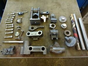 QUORN TOOL AND CUTTER GRINDER CASTINGSsome machines to high standard! + plans