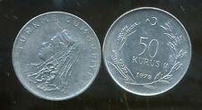 TURQUIE  50 kurus 1979