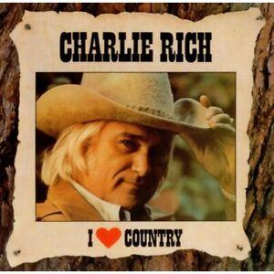 Charlie Rich - I Love Country (EU  CBS 54939) LP NM
