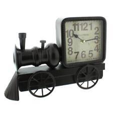 Old Fashioned Vintage Retro Locomotive Mantle Clock Ornament W2761