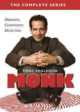 Monk: The Complete Series season 1 2 3 4 5 6 7 8 (DVD, 2016, 32-Disc Set)