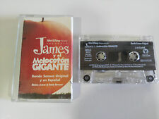JAMES Y EL MELOCOTON GIGANTE SOUNDTRACK CINTA TAPE CASSETTE 1996 WALT DISNEY
