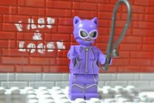 LEGO Catwoman Minifigure From Batman Movie Catwoman Catcycle Chase 70902 w Whip