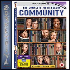 COMMUNITY - COMPLETE SEASON 5   **BRAND NEW DVD  ****