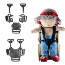 1Pc 5-Point Baby Stroller Pram Buggy Chair Safe Belt Strap-Infant Harness Buckle