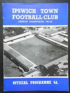IPSWICH TOWN v WORKINGTON - 1965/66 - League Cup 3rd Round Replay