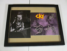 CKY AUTOGRAPHED SIGNED FRAMED CD COVER WITH SIGNING PICTURE PROOF