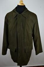 Brooks Brothers Green Nylon Blend Long Coat sz M